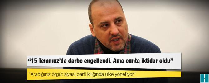 Bild von Gazeteci Ahmet Şık: Aradığınız örgüt siyasi parti kılığında ülke yönetiyor