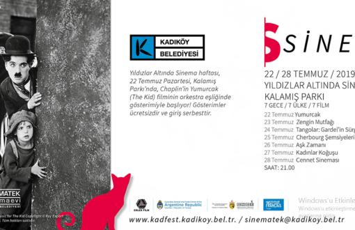 """Kadıköy'de """"Yıldızlar Altında Sinema"""" Haftası Başlıyor"""