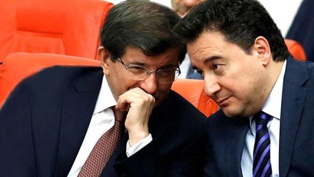 Bild von Erdoğan'ın politik geleceğinde Davutoğlu ve Babacan faktörleri