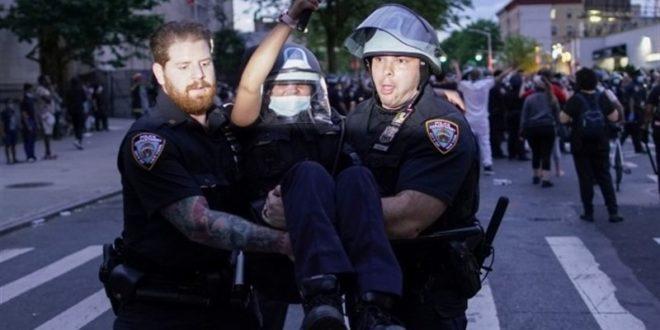 ABD'deki Floyd protestolarında tansiyon yükseldi: 16 eyaletteki 25 şehirde sokağa çıkma yasağı